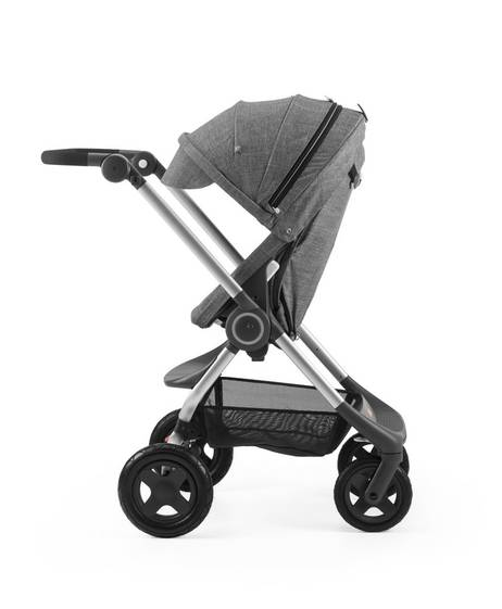 Stokke scoot canopy - Black Melange