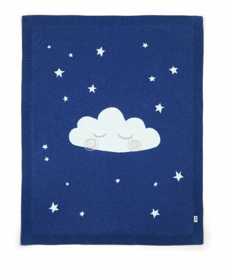 Cloud Knitted Blanket (70 x 90cm)