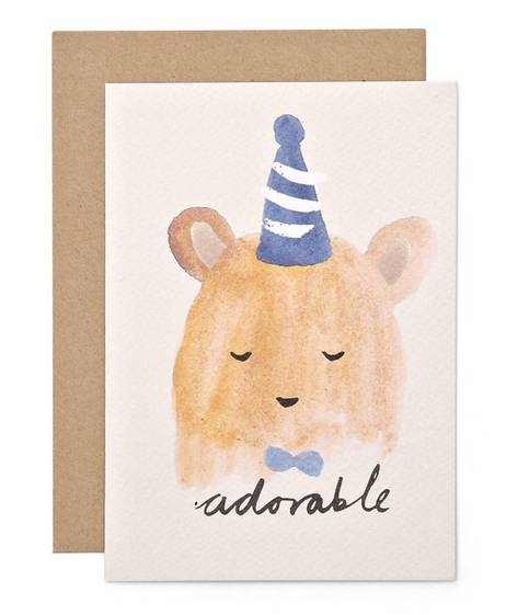 Card - Adorable Bear