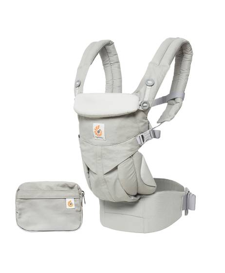 Ergobaby Omni 360 All-in-One Ergonomic Baby Carrier - Pearl Grey