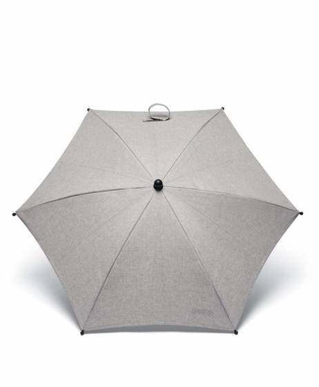 Essentials Parasol - Grey Marl