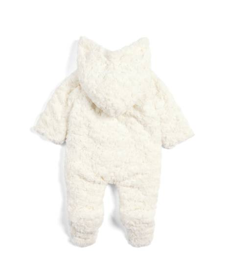 Rose Fur Pramsuit