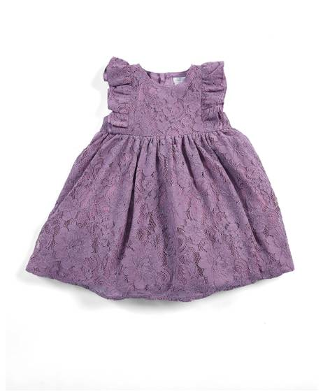 Lace Dress - Purple