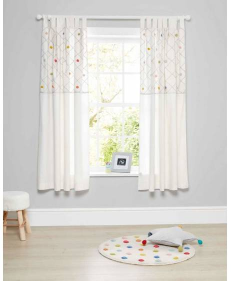 Big Top Tales Curtains - 132 x 160
