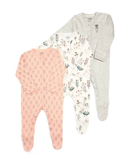 Girls Outback Sleepsuit - 3 pack