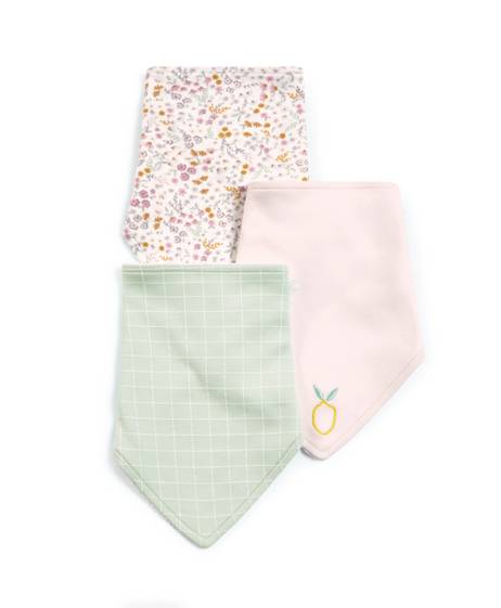 Girls Mixed Bibs - 3 Pack