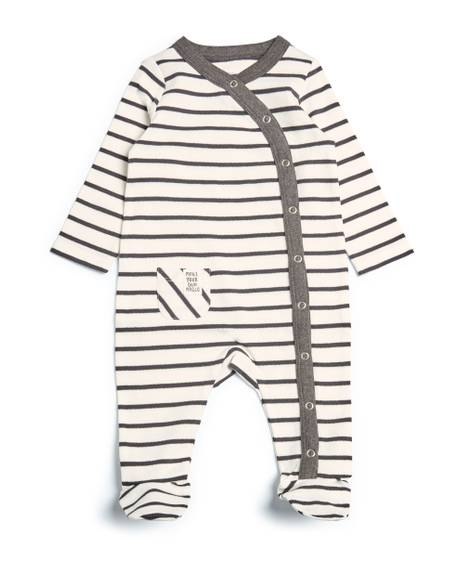 Striped Wrap All-in-One