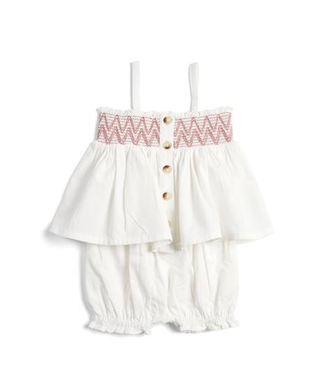 Smock Top & Bloomers - 2 Piece Set