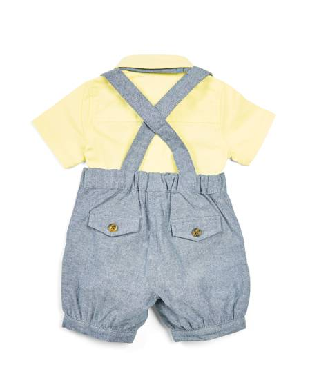 Shortie Dungaree - 2 Piece Set