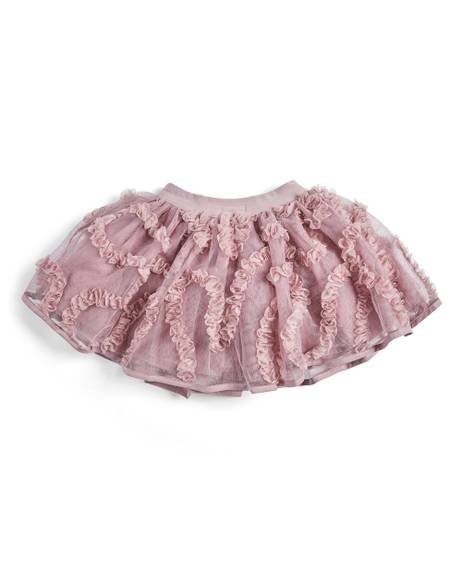 Ruffle Detail Skirt