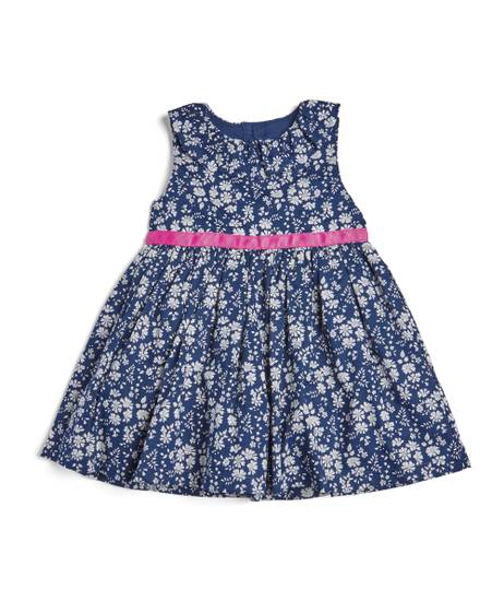 Liberty Ruffle Neck Dress