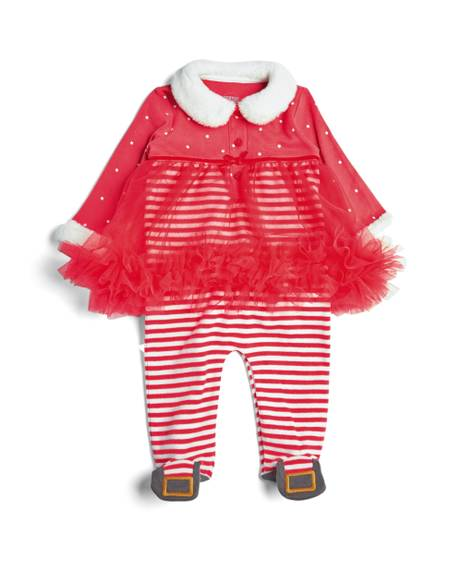Girls Santa All-in-One