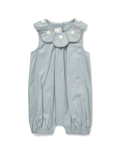 Scallop Collar Romper