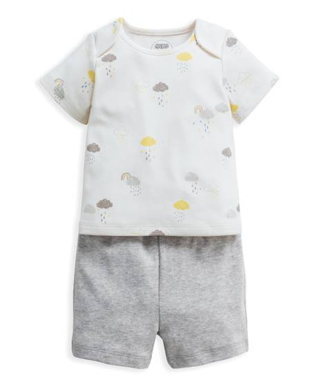 Cloud Jersey Short Pyjamas