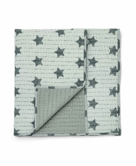 Coverlet - Grey Star