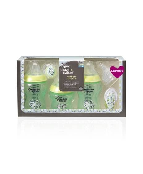 Tommee Tippee Closer to Nature New Born Starter Set - Boy