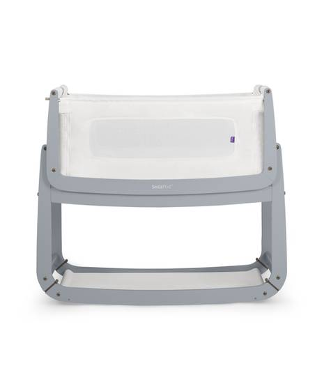 SnuzPod³ Bedside Crib - Dove Grey