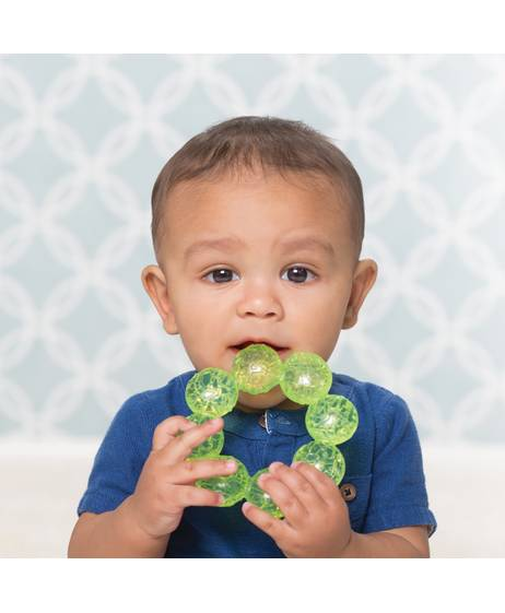 Infantino- Water Teether- Green