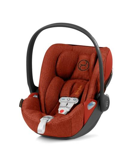 Cybex Cloud Z i-Size Baby Car Seat incl. SensorSafe - Autumn Gold