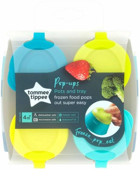 Explora Pop Up Freezer Pots & Tray