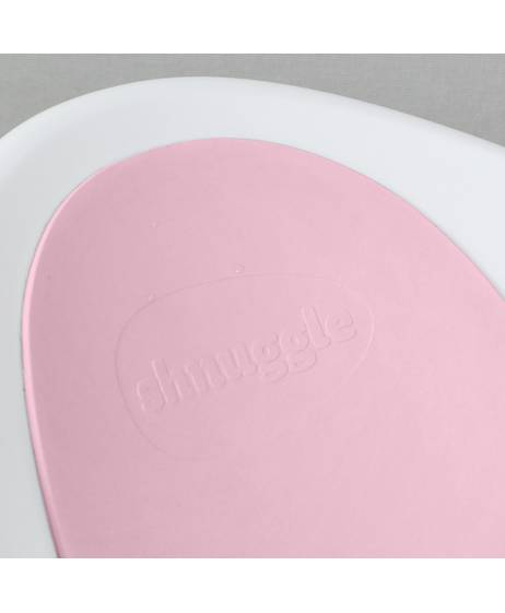 Shnuggle Bath - White with Pink