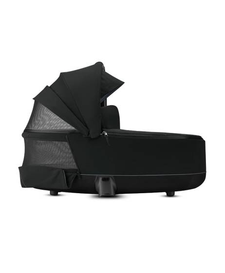 PRIAM Carry Cot Lux Premium Black