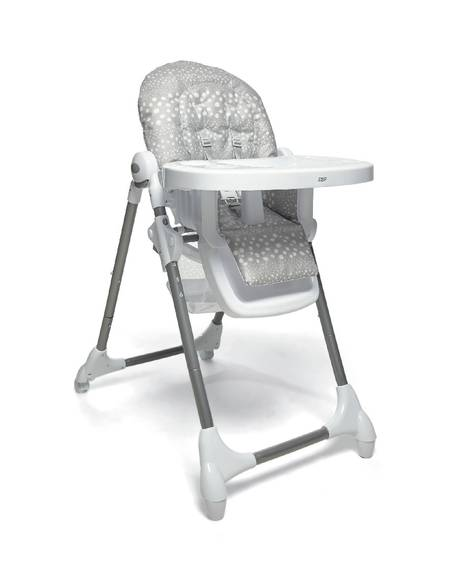 Snax Highchair - Grey Spot