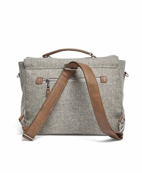 Ocarro X Moon Satchel Style Changing Bag - Grey