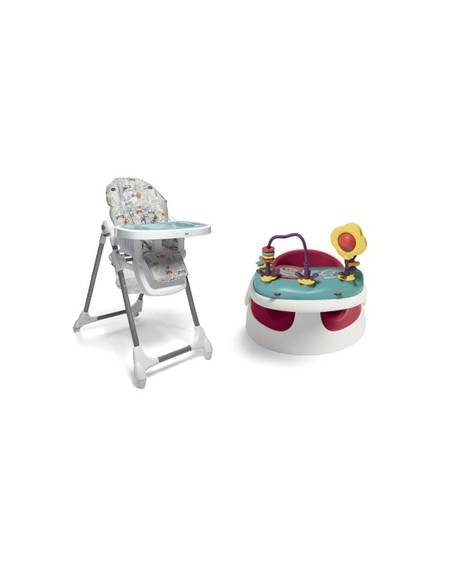Baby Snug - Red & Snax Highchair - Miami Beach