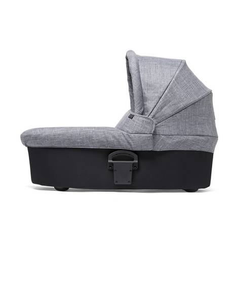 Sola2 Carrycot - Black & Grey Marl