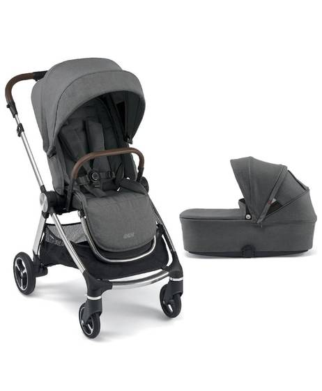 Strada Pushchair with Carrycot - Grey Mist