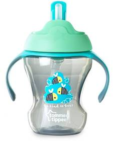 Tommee Tippee Explora EASY DRINK STRAW CUP- Blue