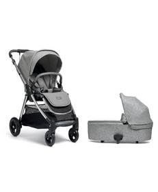 Flip XT3 Pushchair with Carrycot - Skyline Grey